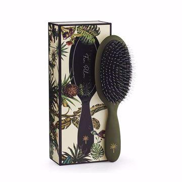 Fan Palm Hair Brush. Medium- Jungel