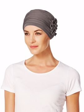Lotus Turban Gray Brown